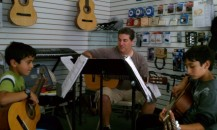 Cameron Mike Neseem in Guitar Studio