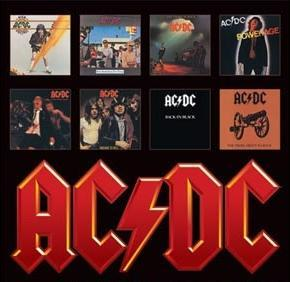 ACDC Album Cover Art Poster