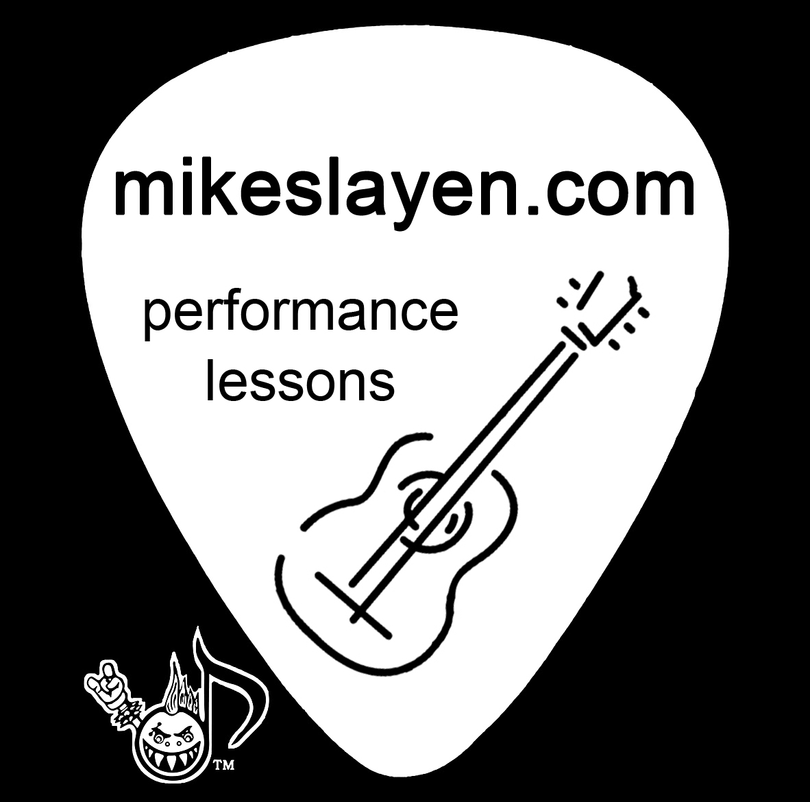 Custom Guitar Picks – Mike Slayen ~ Guitarist