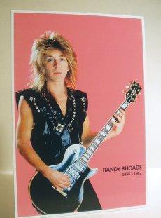 The Classic Randy Rhoads Poster