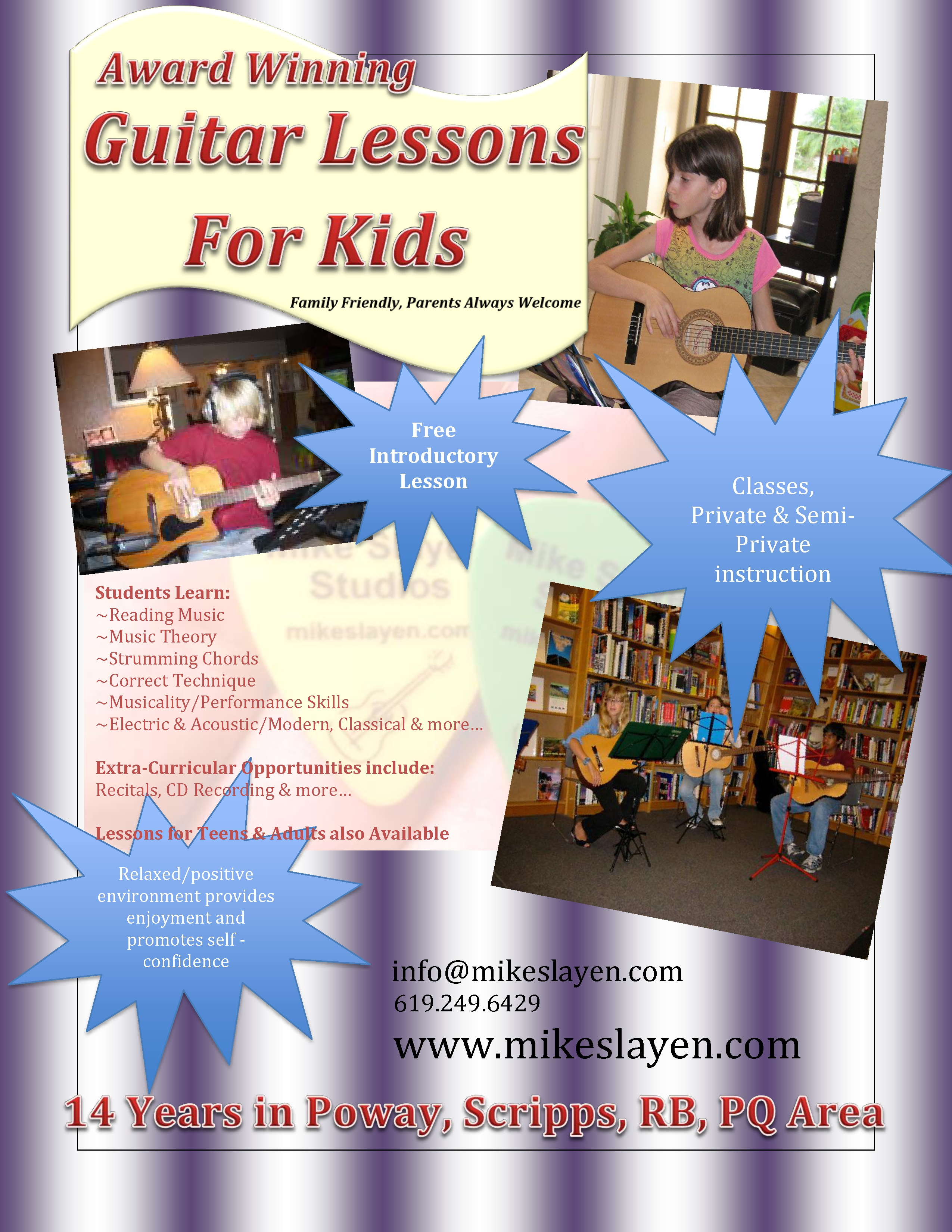 Guitar Lessons For Kids Poway Scripps RB PQ New Brochures