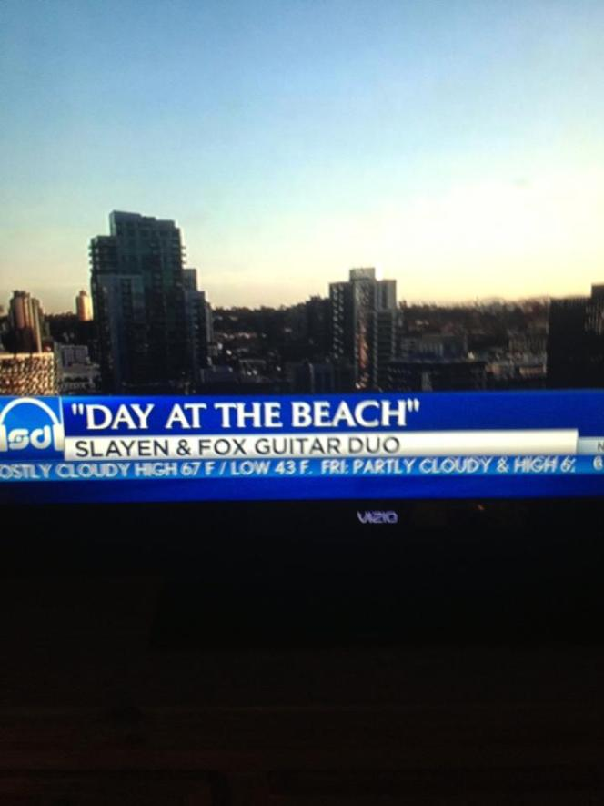 Day at the Beach on KNSD